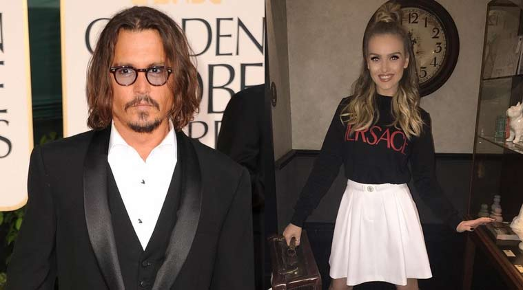 Johnny Depp, Perrie Edwards