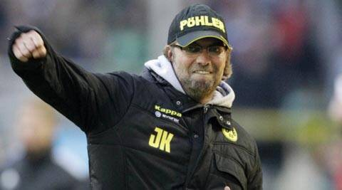 Juergen Klopp arrives in Liverpool to take charge of club
