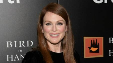 Julianne Moore launches gun safety campaign