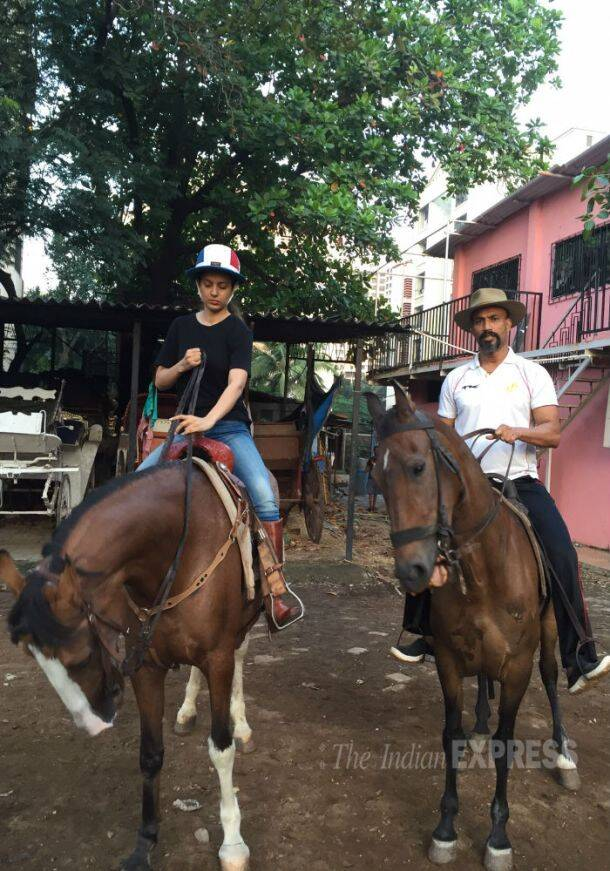 Exclusive pics: Bollywood 'Queen' Kangana Ranaut learns a new skill - horse riding