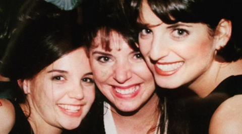 Katie Holmes shares throwback photo of herself with sisters