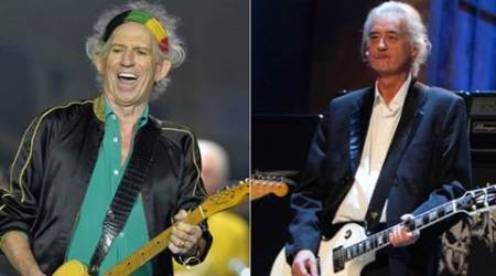 Keith Richards, The Rolling Stones, Led Zeppelin, Jimmy Page, The Rolling Stones Guitarist Keith Richards, Led Zeppelin Lead Guitarist Jimym Page, The Rolling Stones Band, Led Zeppelin Band, Entertainment news