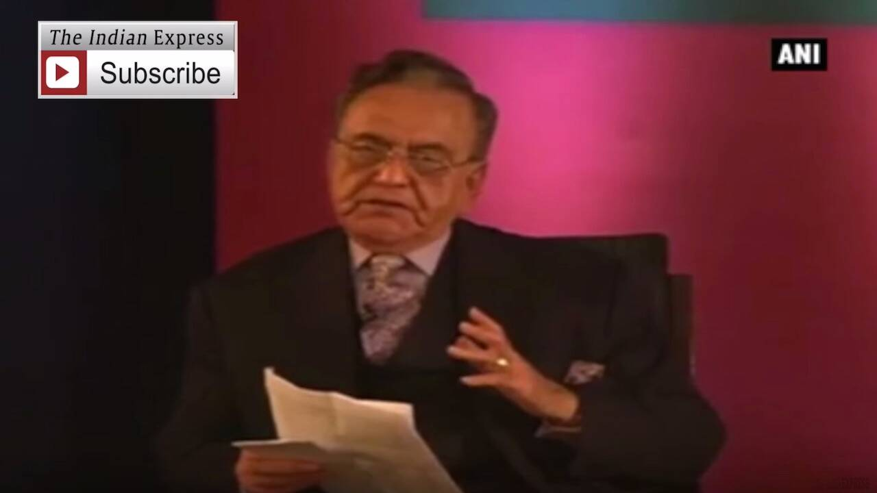 Hope Indo-Pak Ties Improve Under Modi: Khurshid Mahmud Kasuri