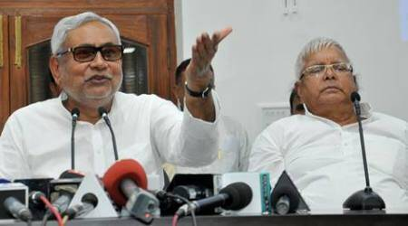 Bihar pre-poll survey predicts big win for Nitish-Lalu alliance