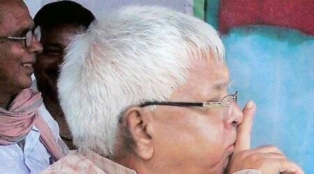 Until Tej Pratap finds his voice, he can count on Lalu Prasad