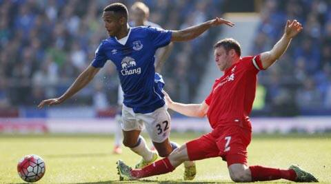 Liverpool, Everton play out 1-1 draw