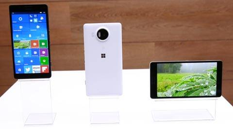 Microsoft Lumia 950 XL vs iPhone 6s Plus vs Nexus 6P vs S6 edge plus: A look at specs chart