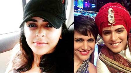 Madhurima Tuli hurts herself while performing 'Gatka'