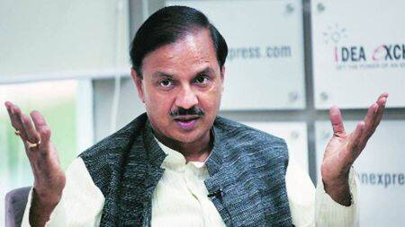 lalit kala academy, mahesh sharma, minister of state for culture and tourism, modi government, three years of modi government, sudhakar sharma, sahitya academy, mahesh sharma interview