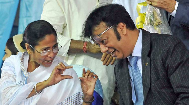 Kolkata: West Bengal Chief Minister Mamata Banerjee with Bangladesh Deputy High Commissioner Zokey Ahad during the inauguration of the longest flyover of the city, from Park Circus to Eastern Metropolitan Bypass, in Kolkata on Friday. PTI Photo(PTI10_9_2015_000212A)