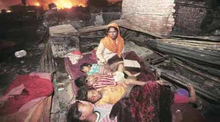 Homeless After Blaze: Sleepless in Mangolpuri, coming to terms with loss