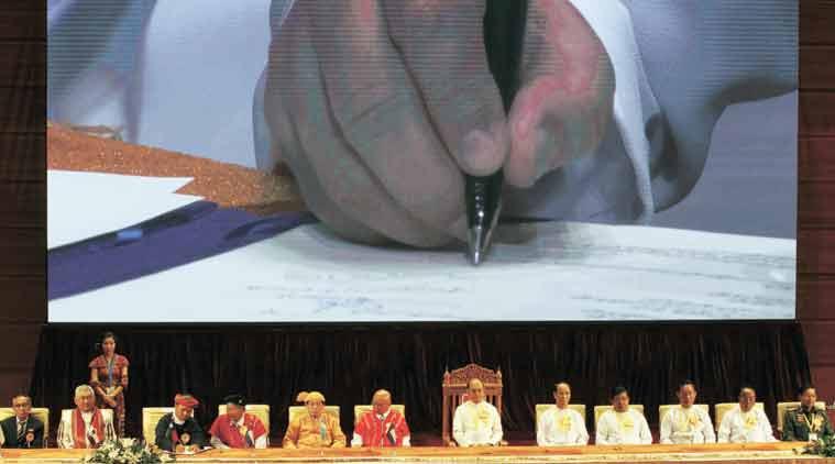Myanmar insurgents, Myanmar insurgents peace deal, Myanmar peace deal, Ajit Doval,
