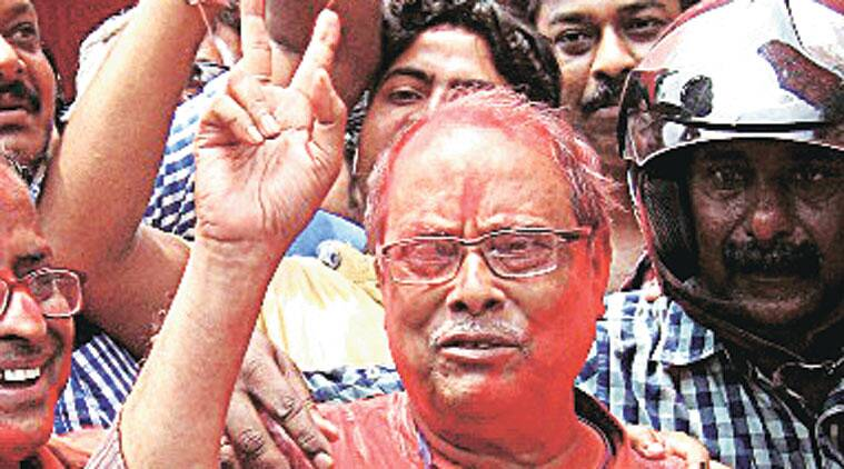 Siliguri Mayor Ashok Bhattacharya has worked out a political model, under which BJP, Congress and Left come together to fight Trinamool