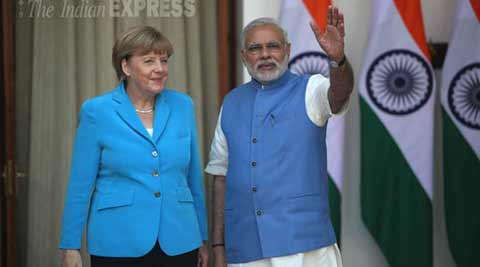 PM Modi, Angela Merkel hold talks; emphasis on improving trade and investment