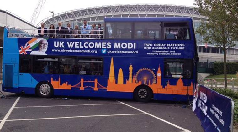 ahead of pm s november 13 visit modi express launched in uk