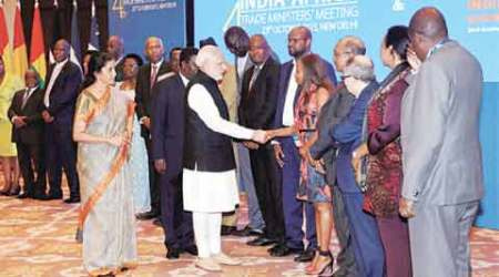 Narendra Modi, Modi, India Africa Summit, Africa summit India, Africa India Summit, Modi news, Summit of African Nations, African nations summit in India, India news, Africa News, World News