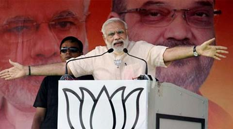 PM Narendra Modi Attacks Lalu Over His Beef Remarks
