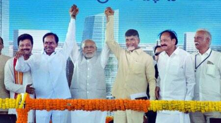 Congress bifurcated Andhra in haste, spread poison: PM Narendra Modi