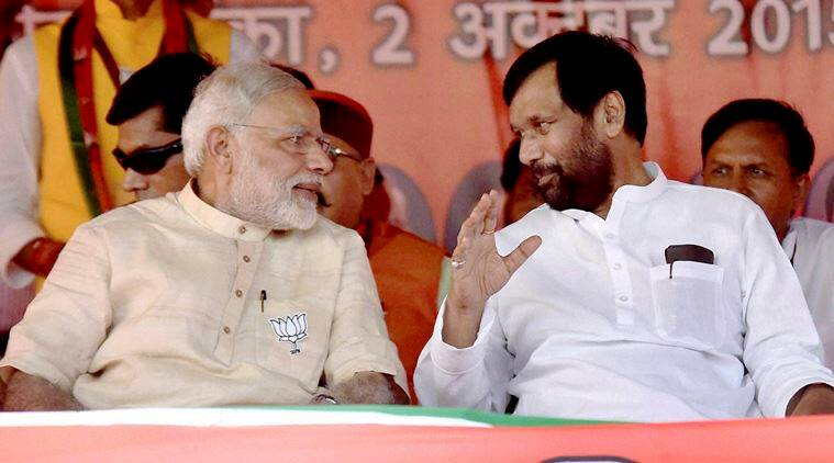 Ram Vilas Paswan, LJP, BJP, LJP-BJP alliance, UP polls, 2017 assembly elections, UP elections, UP news, latest news, India news, Indian express