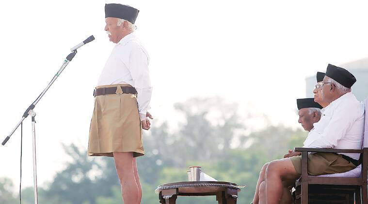 Mohan Bhagwat had expressed dissatisfaction over the way BJP let Congress 'hijack the sensitive issue'.