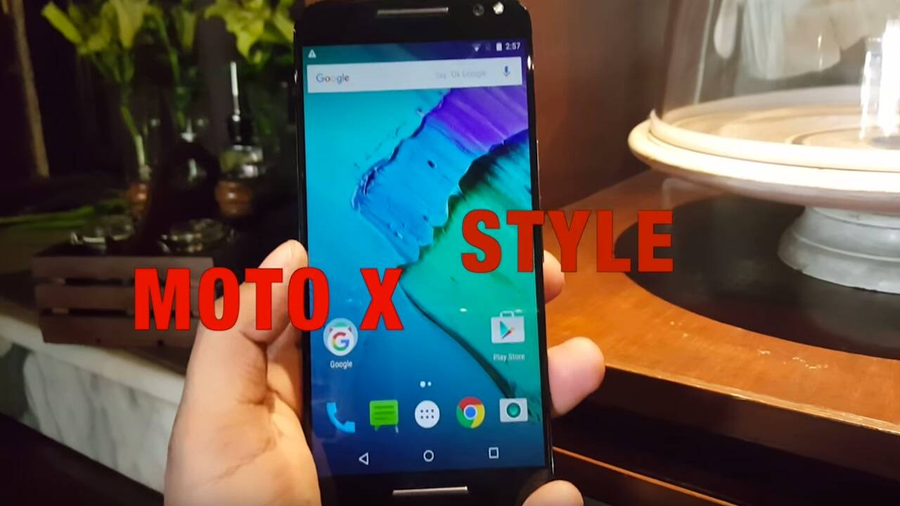 Moto X Style: First Look