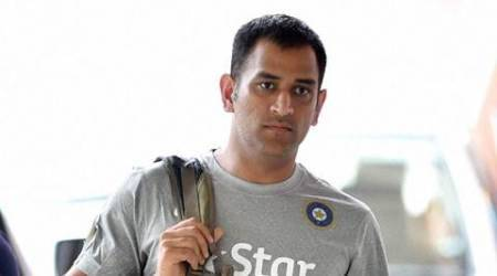 Bengaluru : Indian captain MS Dhoni during the preparatory camp for the upcoming series against South Africa at NCA in Bengaluru on Wednesday. PTI Photo by Shailendra Bhojak  (PTI9_23_2015_000225A)
