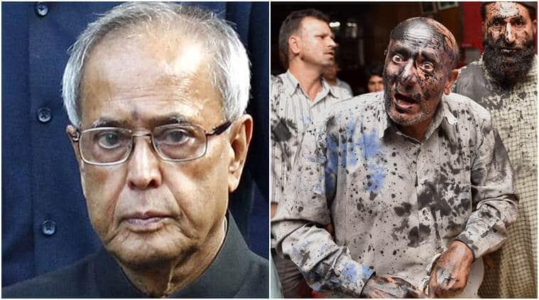 pranab mukherjee, ink attack, JK mla, engineer rashid, rashid, ink attack, ink attack on JK mla, j&K, president, tolerance, intolerance, latest news