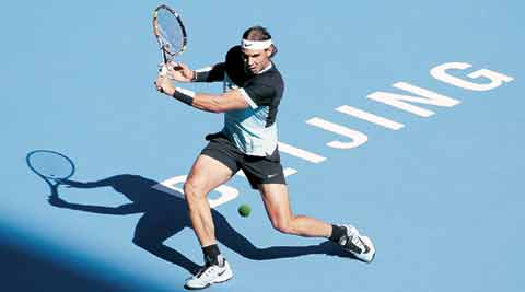 Rafael Nadal digs deep, tames Sock for place in semis