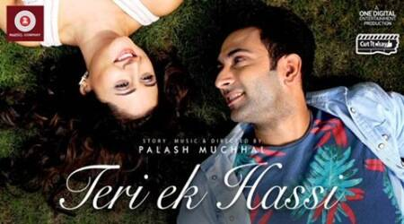 Nandish Sandhu, Rashami Desai in music video together