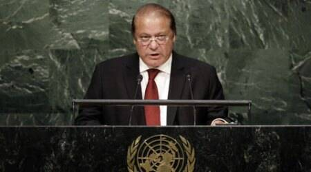 Pakistan, nawaz sharif, india pakistan, paksitan kashmir issue, UN resolution Kashmir, Nawaz Sharif Kashmir resolution, UNGA Kashmir resolution, India Pakistan Talks, Narendra Modi NAwaz Sharif, India Pakistan ties, india news, pakistan news, world news, latest world news