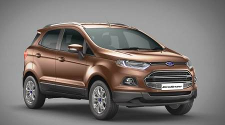 Ford introduces manual transmission, petrol top-endEcoSport