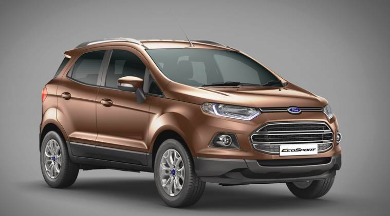 Ford introduces manual transmission, petrol top-end EcoSport