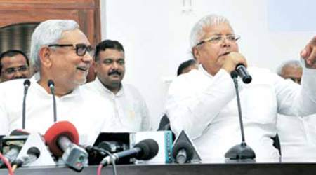 bihar election results, bihar election result, bihar election 2015, nitish lalu press conference, election 2015, jdu results 2015, jdu bihar election results, nitish kumar, lalu prasad yadav, jdu bihar, nitish kumar jdu, nitish kumar 2015, lalu prasad jdu, bihar elections nitish lalu, election news