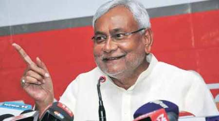 Where Nitish shows up in lantern flicker