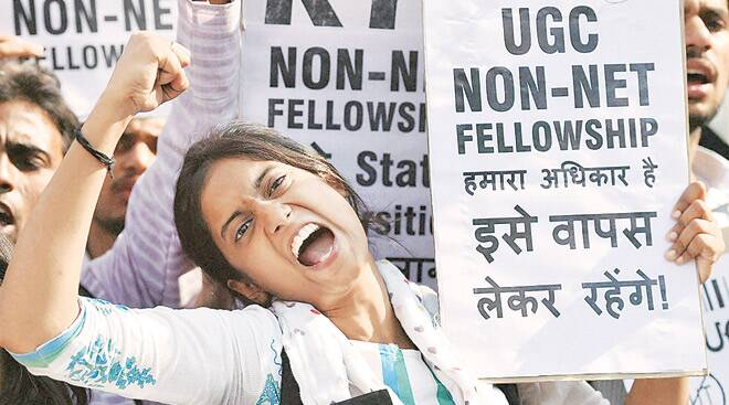 Simply Put Students Anger And Ugc S Move To End Non Net Stipend