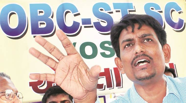 OBC leader, Alpesh Thakor, OBC leade Alpesh Thakor, reservation, OBC reservation, scrapping of caste based reservation, indian express