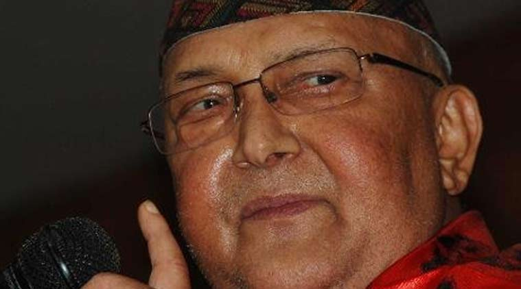 Communist party leader Khadga  Prasad Oli. (Source: Twitter)