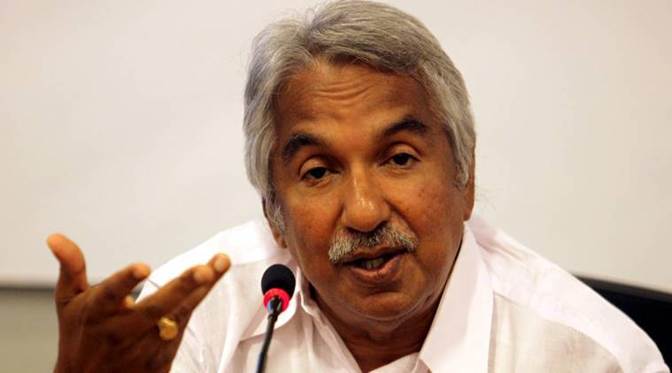 Kerala Chief Minister Oommen Chandy. Express photo by Ravi Kanojia.