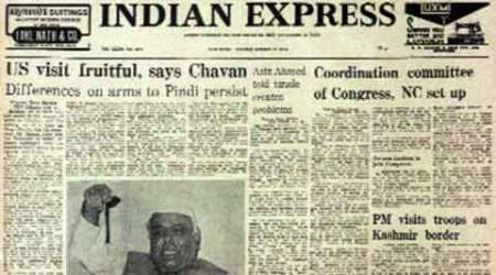 Indian Express, Indian Express front page, Indian Express page