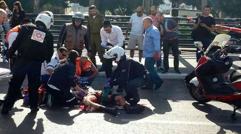 Palestinian woman stabs Israeli near Jerusalem holy site: Police