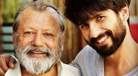 Shahid Kapoor was nervous to work with father Pankaj Kapur in 'Shaandaar'