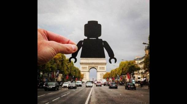 British photographer uses paper cutouts to give Europe a new look