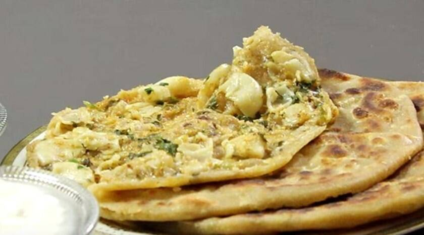 Lunchbox idea: You will love this Macroni Paratha 1