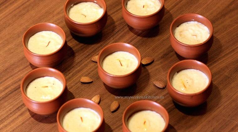 Almond and Saffron Phirni recipe (Source: Ashima Goyal Siraj)