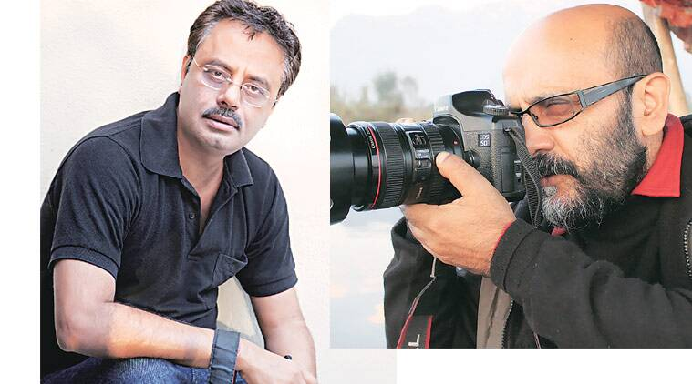 Photographers Amit Mehra (left) and Veer Munshi (right)