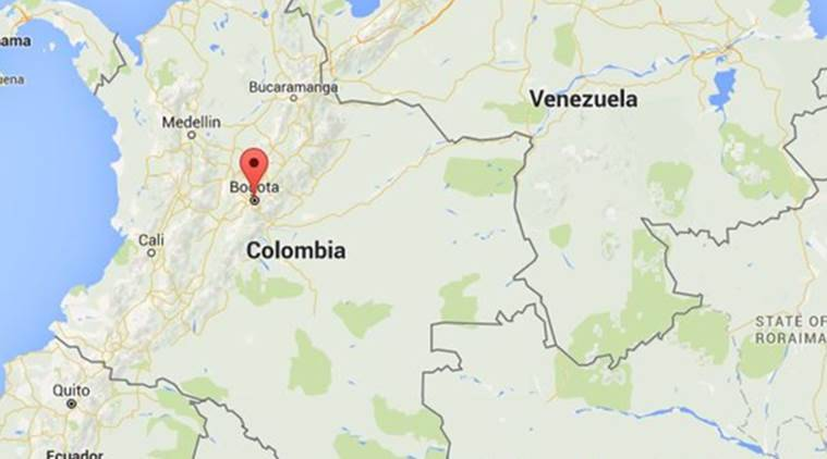 Small plane crashes in Colombia capital