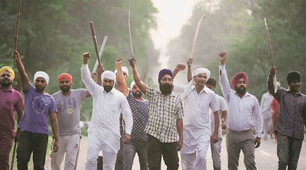 The protesters out on the streets come bearing resentment over the lack of jobs, high inflation, and absence of law and order. (Source: Express photo by  Gurmeet Singh)