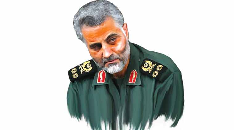 Image result for qassem soleimani in Syria""