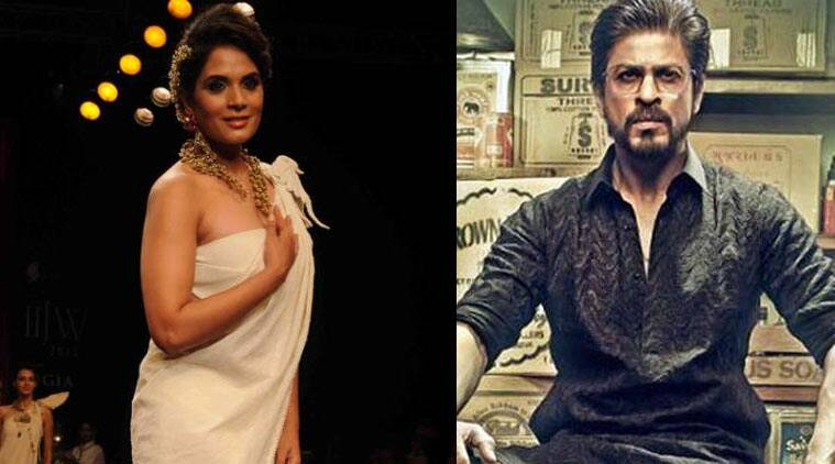 Richa Chadha, SRK, Raees, Fan, SRK Fan