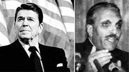 Ronald Reagan, US State Department, US President Ronald Reagan, Pakistan General Zia-ul-Haq, Indira Gandhi, Pakistan's nuke sites, Pakistan's nuclear installations, pakistan military strike, pakistan, CIA document, CIA, Nuclear Developments Pakistan, India Pakistan relation, US National Security Archive, Central Intelligence Agency, CIA, indian express